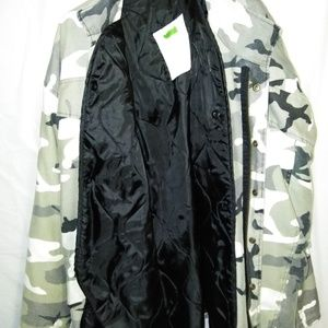 Military Cold Weather Field Jacket  (W/Liner)